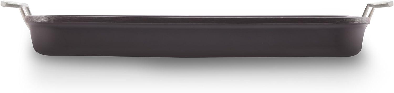 Valira 4650//25 Aire Plancha Premium de 23x23 cm fabriqu/é en Espagne en fonte daluminium avec anti-adh/érent /écologique renforc/é Noir apte pour linduction