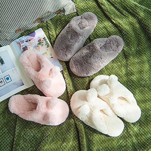 CWAIXXZZ pantofole morbide Autunno e Inverno Cartoon carino bambini, un lussuoso home paio di pantofole di cotone uomini e donne piscina per i bambini sono previsti soggiorno con spessi (1,6 piedi lun