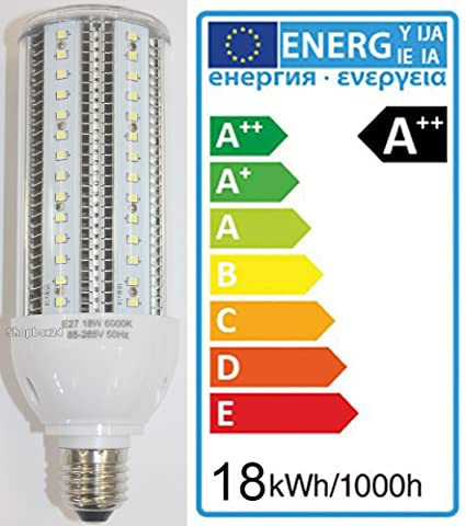 Bombilla LED Corn Light, mazorca de maíz, bombilla, 18 W, equivalente a