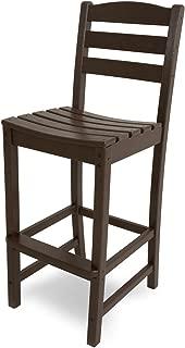 product image for POLYWOOD TD102MA La Casa Café Bar Side Chair, Mahogany