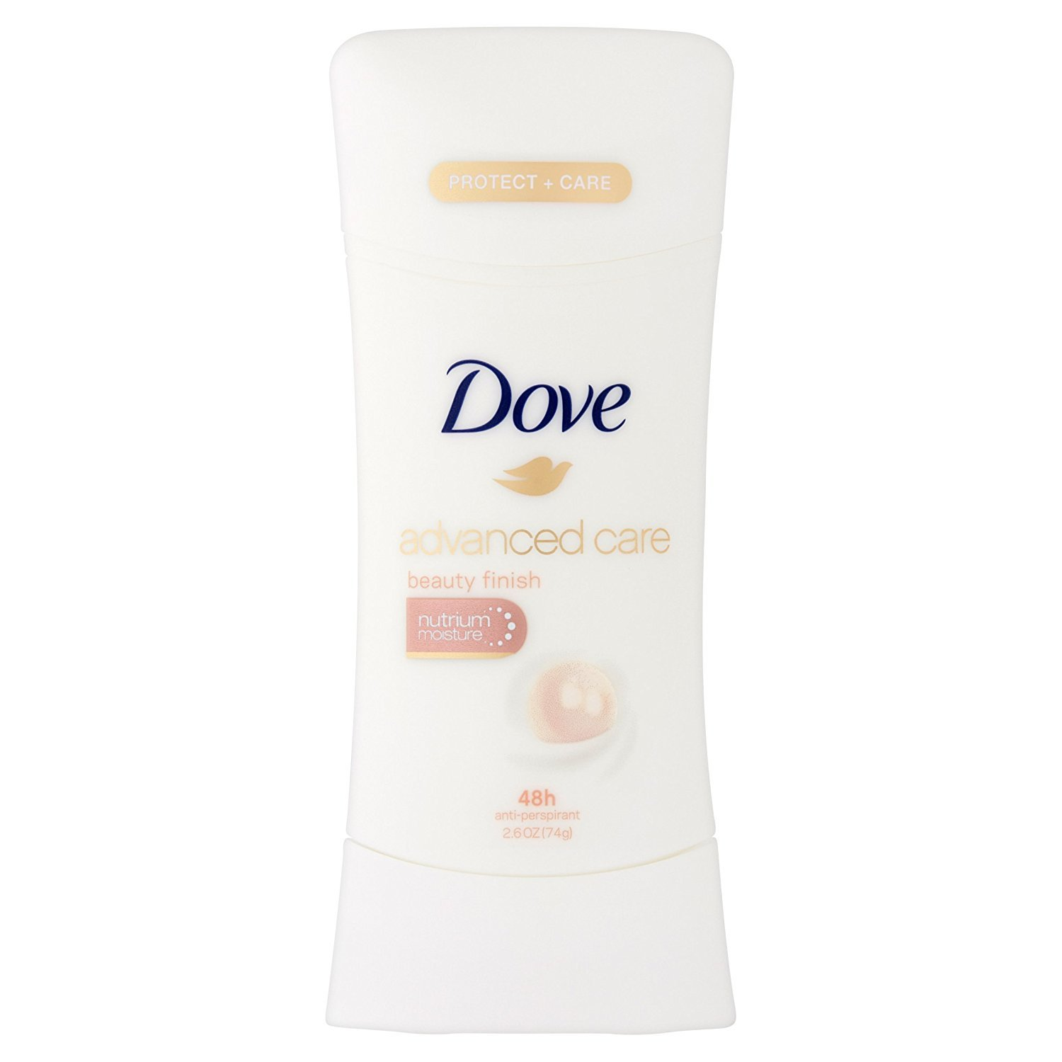 Dove Advanced Care Anti-Perspirant Deodorant, Beauty Finish 2.6 ounces (Pack of 4) by Dove