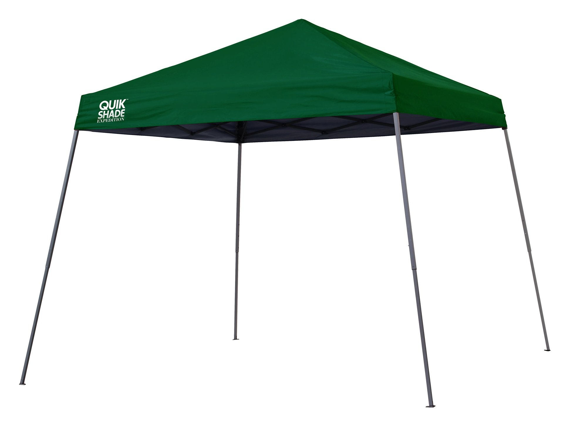 Quik Shade Expedition 12 x 12 ft. Slant Leg Canopy, Green by Quik Shade