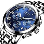 Watches Men Luxury Brand Chronograph Men Sports Watches Waterproof Full Steel Quartz Men's Watch