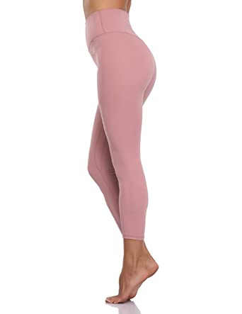 d8b7f67dca647 Colorfulkoala Women's Buttery Soft High Waisted Yoga Pants Full-Length  Leggings (XS, Mauve Pink) at Amazon Women's Clothing store: