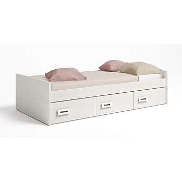Muebles Baratos Cama Nido Juvenil, Subida A Domicilio, Color Pino danés, ref-11: Amazon.es: Hogar