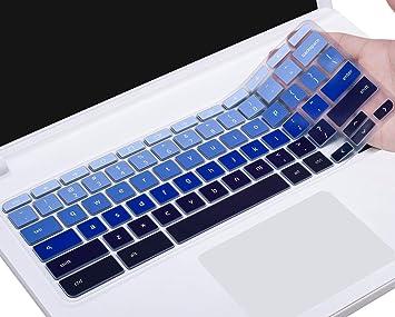 Keyboard Cover for 2019/2018/2017 Acer Chromebook 11 CB3-131 CB3-132/  Chromebook R 11 CB5-132T/ Acer Chromebook Spin 13 CP713 CB5-312T/  Chromebook 14