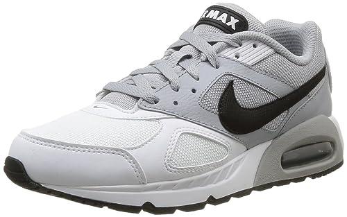 d4730ca3c7 ... Nike Men s Air Max IVO White Black Wolf Grey Running Shoe 11.5 Men US  ...