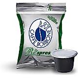 I0160 300 CAPSULE Respresso CAFFE' BORBONE MISCELA DEK compatibili NESPRESSO