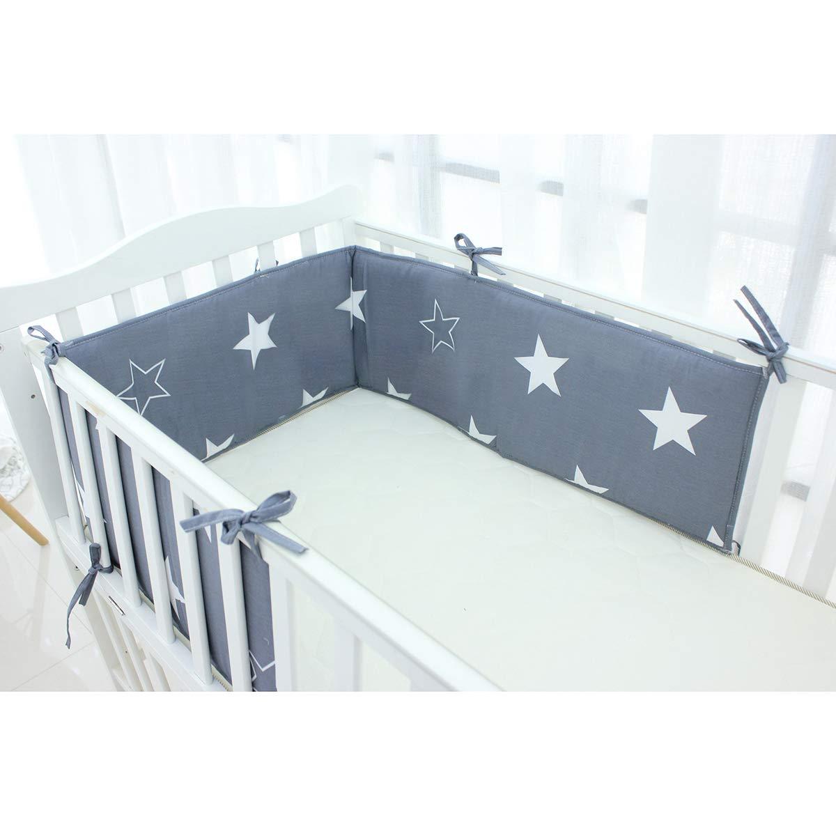 Nestchen Kopfschutz für Kinderbett 140x70 u 120x60 Baby Schutz Polsterung /'NEU/'