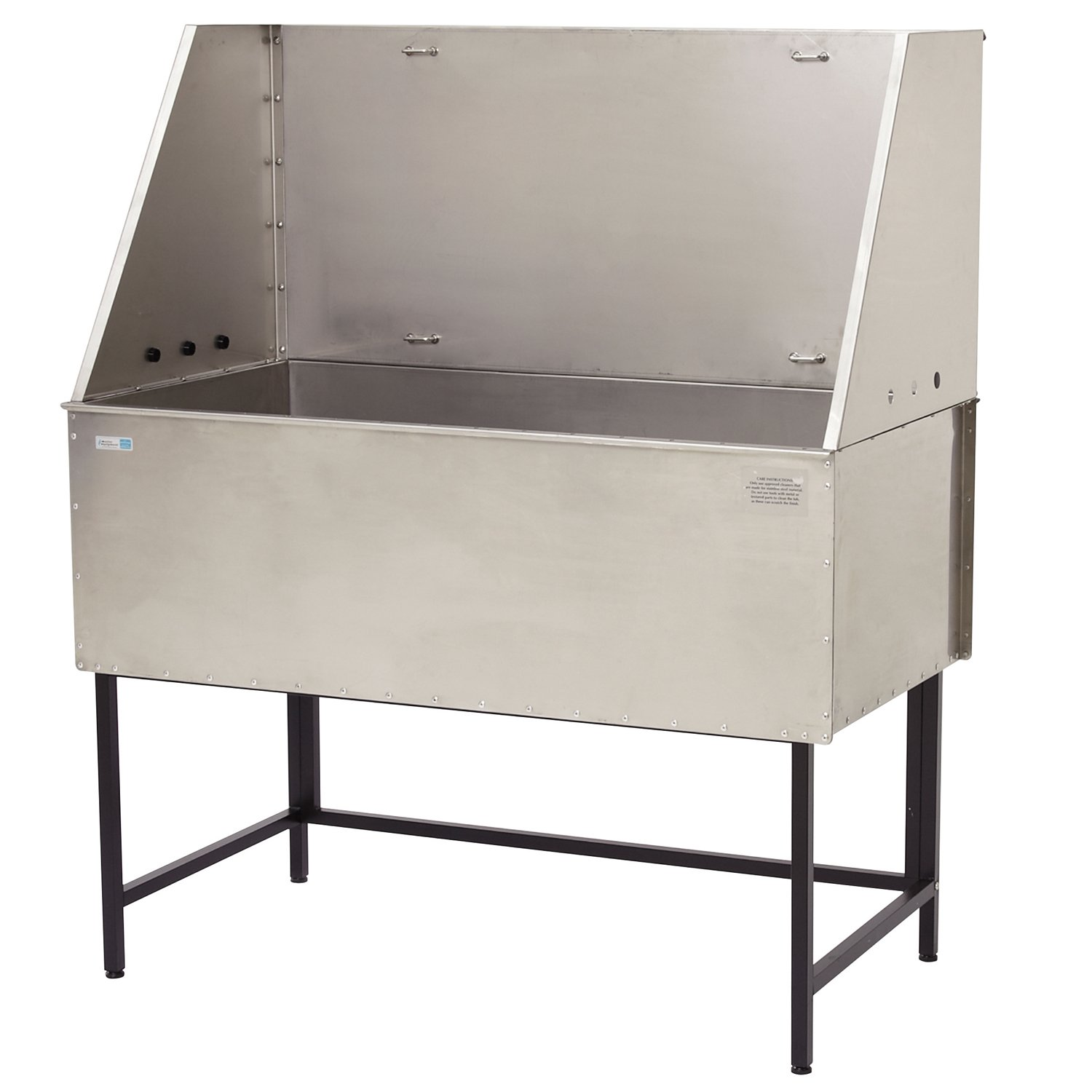 Master Equipment Stainless Steel Everyday Pro Deluxe Pet Tub, 48-Inch