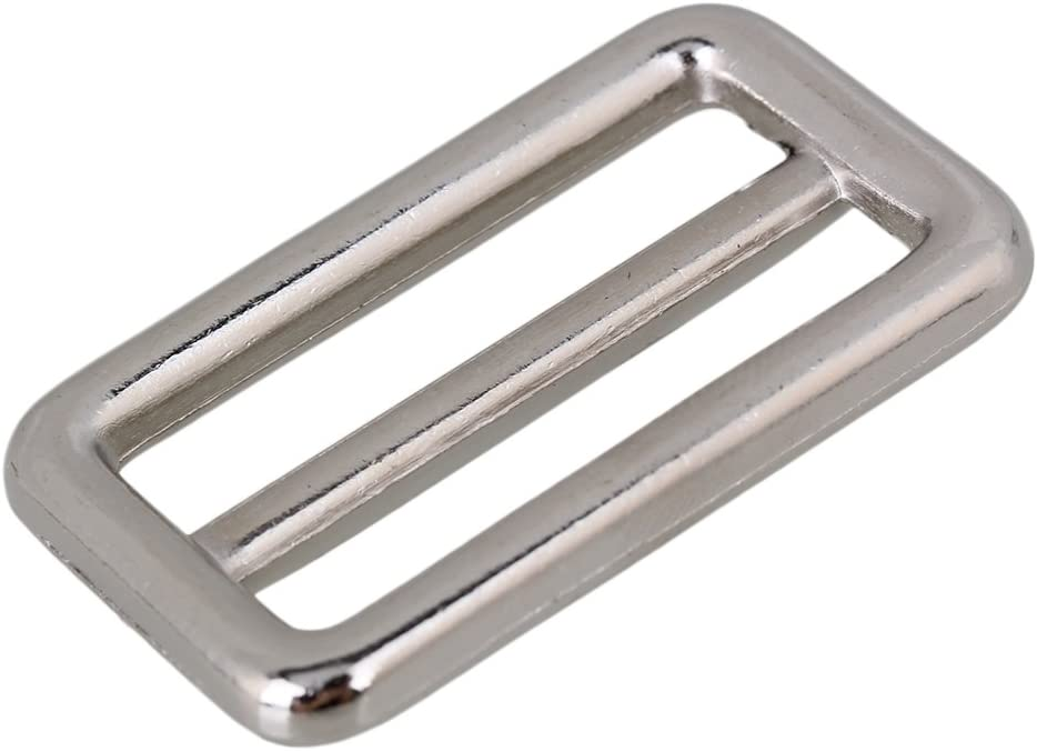 3.8cm BQLZR 10 unidades, aleaci/ón de zinc Plateado color plateado Hebilla para bolso de mano
