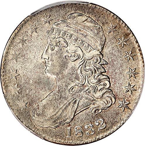 (1832 P Bust Half Dollars Small Letters Half Dollar AU58 PCGS)