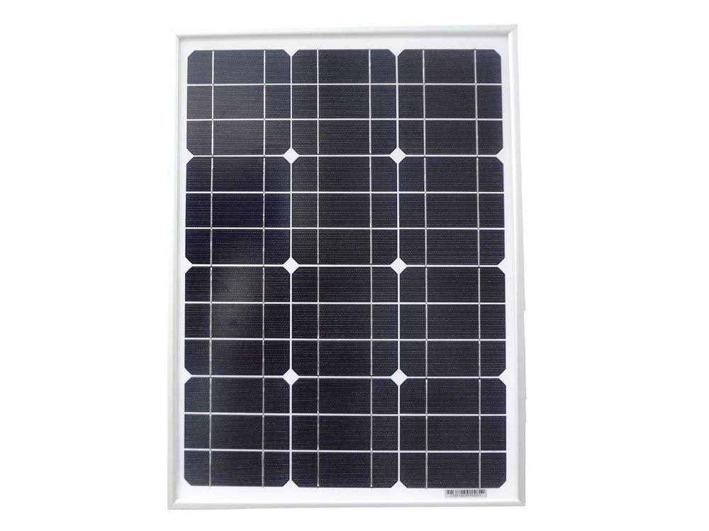 MISOL 30w solar panel for 12V system,monocrystalline, photovoltaic panel, solar module/panneau solaire pour le système 12V, monocristallin, panneau photovoltaïque, module solaire