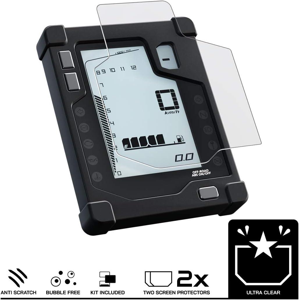 2 x Ultra Klar X-ADV 2017 Displayschutzfolie Tachoschutzfolie