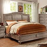 Cheap 247SHOPATHOME IDF-7611CK Bed-Frames, California King, Oak