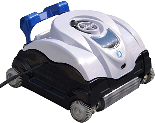 Well Solutions® 08087 Piscina Aspiradora | Pilot Robot Aspirador para Suelo y Pared | Shark Pool Robot Apto para Todas Las Formas de la Piscina y Superficies: Amazon.es: Jardín