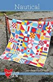 Nautical Quilt Pattern by Cluck Cluck Sew - 3 sizes - #152