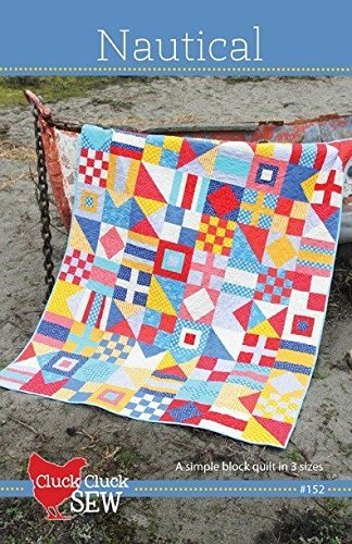 Nautical Quilt Pattern by Cluck Cluck Sew - 3 sizes - #152 by cluck cluck sew
