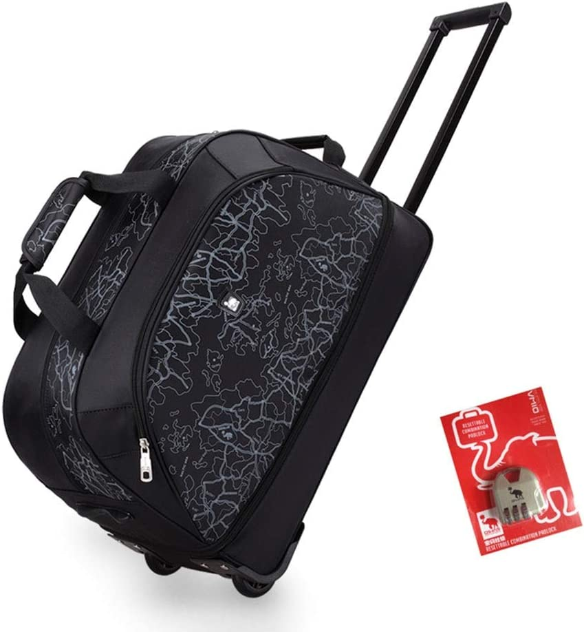 Color : Black, Size : 55.526.536cm Large Capacity Boarding Luggage SuitcasesTravel Bags Trolley Case Carry On Hand Luggage Durable Hold Expandable Capacity Tingting