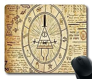 "Gravity Falls Bill Cipher Custom Standard Oblong Gaming Mousepad in 220mm*180mm*3mm (9""*7"") -10112074"