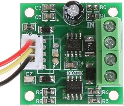 Demiawaking Pwm Dc Motor Drehzahlregler 1 8v 3v 5v 6v Elektronik