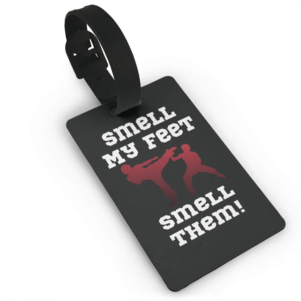 Luggage Tag MELL MY FEET Karate Travel ID Bag Tag Suitcase Labels