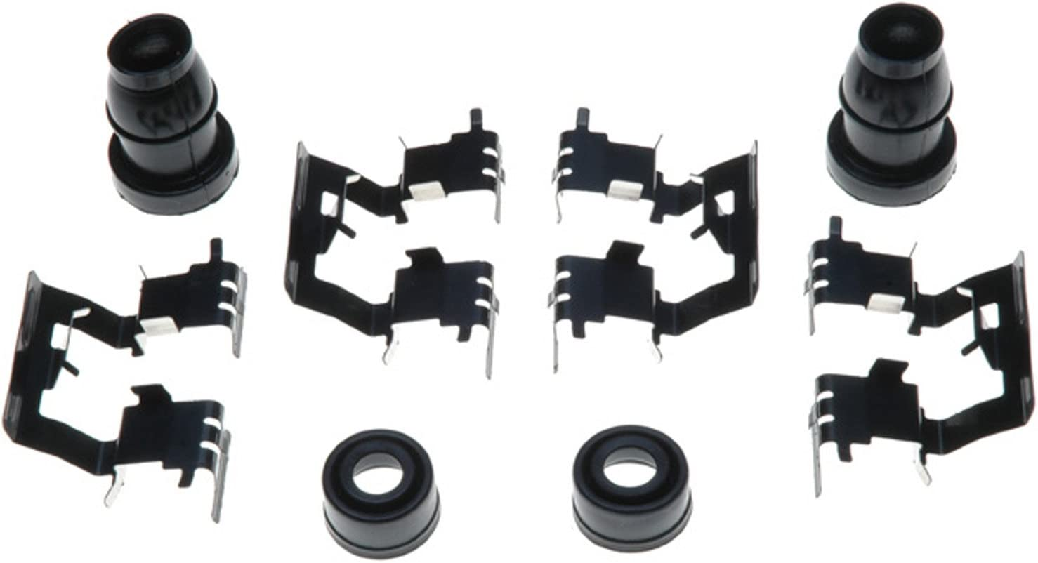Seals ACDelco 18K873X Professional Rear Disc Brake Caliper Hardware Kit with Clips and Bushings