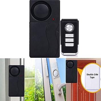 TianranRT T/ür Alarm Drahtlos Diebstahlsicherung Fernbedienung Steuerung T/ür Und Fenster Sicherheit Alarme