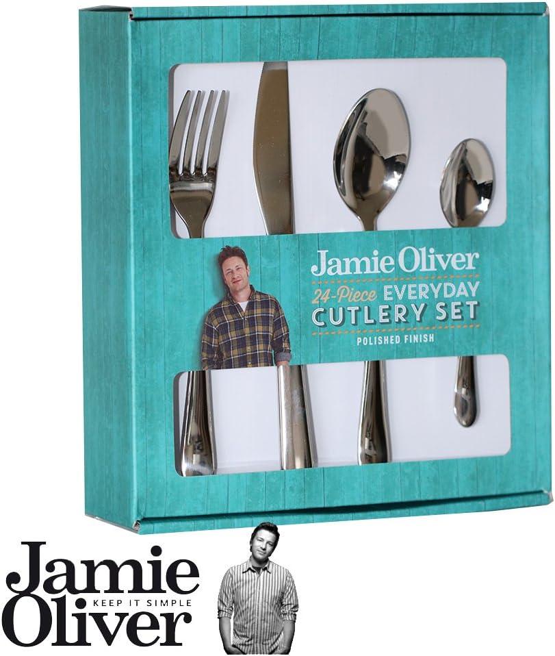Jamie Oliver Besteckset Everday 24 teilig | Besteck