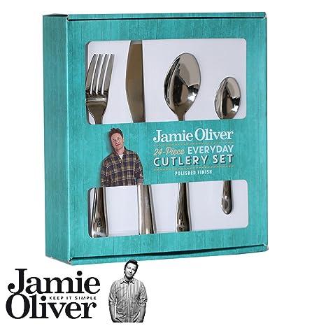 Jamie Oliver - juego de cubiertos Everyday - 24 piezas