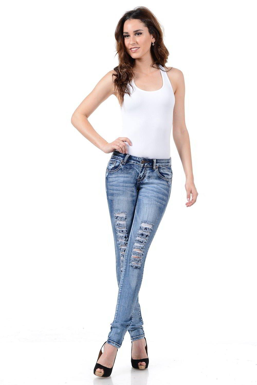 Sweet Look Premium Edition Women's Jeans - Style WG0230 SKP-SSP-WG0230