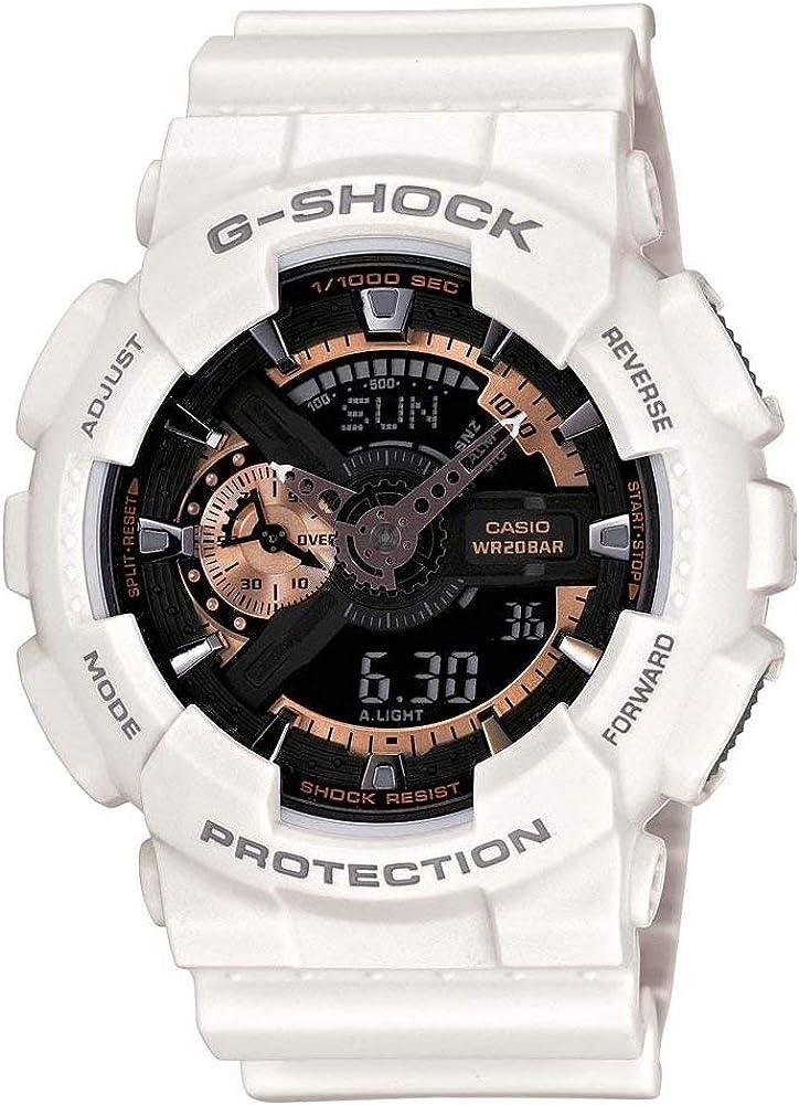 Casio Reloj Analógico-Digital para Hombre de Cuarzo con Correa en Resina GA-110RG-7AER