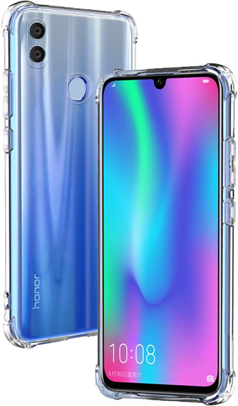 AIFIVE Funda Huawei Honor 10 Lite, Carcasa Silicona Transparente ...