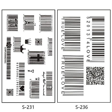 CLLCR Tatuaje Temporal - Etiqueta Engomada del Tatuaje/Simulación ...