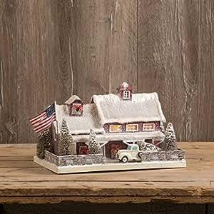 Ragon House RED American Farmhouse