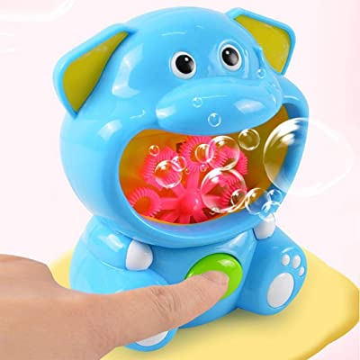 MUDEREK Children's Electric Bubble Blowing Machine Automatic Bubble Toys Bubbles: Toys & Games