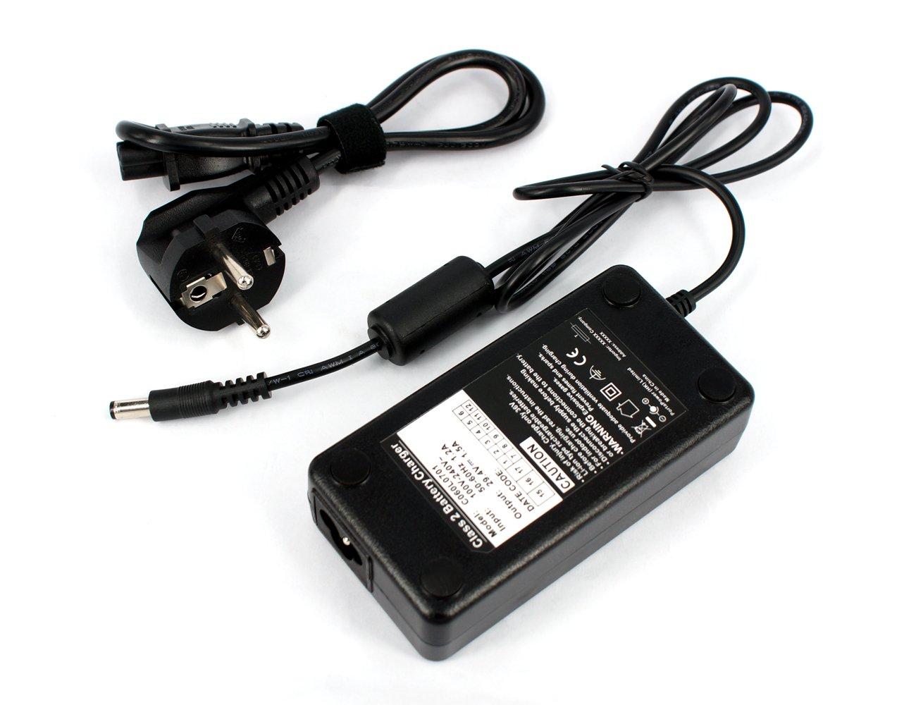 Power Smart® erider batería Cargador para Batería 36V Iones Para E-Bike/bicicleta eléctrica ack4201C060l1001 PowerSmart