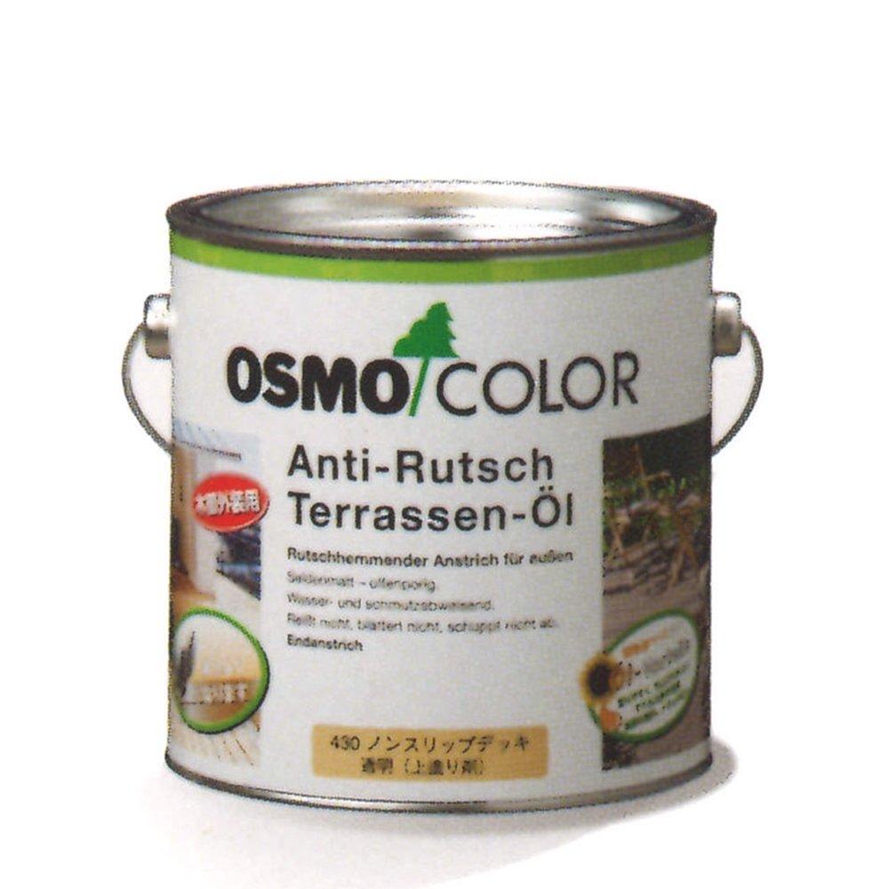Osmo 430d 2.5 litre d'huile pour terrasse antidé rapant –  Clair