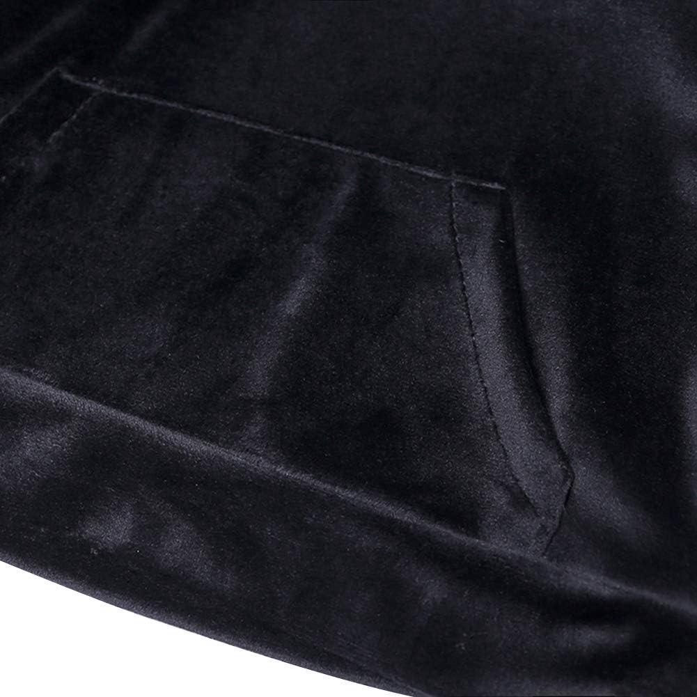 BINIDUCKLING Newborn Toddler Bear Hoodie Sweatsuit Long Sleeve Pants Outfit Set Baby Boys Girls Velvet Tops Sweatpants Long Pants Tracksuit Sport Suit Spring Autumn Winter Newborn Infant Gifts 9M-7T