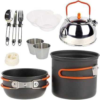 Utensilios de Cocina de Camping kit Durable, ligero, de ...