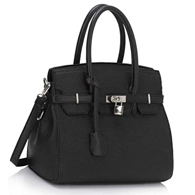 d6628e3832 LeahWard Large Size Padlock Tote Bags For Women Nice Ladies 3 Compartments Shoulder  Handbags A4 Bag