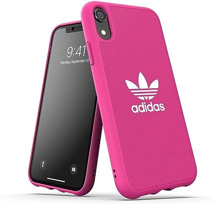 Custodia cover case Adidas ADICOLOR - IPHONE Xr Pink - PhoneNapoli