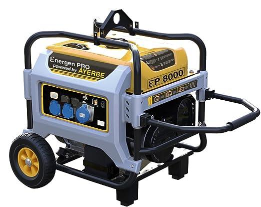 Ayerbe ENER-GEN PRO 8000 TX Generador, 6500W