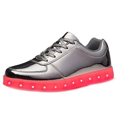 [Present:kleines Handtuch]Schwarz EU 35, athletische Männer JUNGLEST® Top leuchten Schuh High Paar Frauen USB