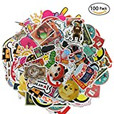 Laptop Stickers pack,100 Pcs Graffiti Stickers Skateboards Car Patches Decals For Kids Luggage Bumpers Bikes Motorcycle Bicycles Gift,by E-Starlet