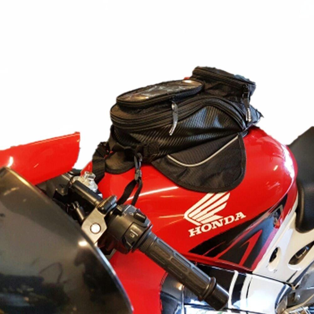 HMMJ Sacs d'huile de moto, Imperméable Oxford petit Réservoir de Carburant à l'huile 35 * 17cm Sac, Universel pour Tous les Types de Réservoir