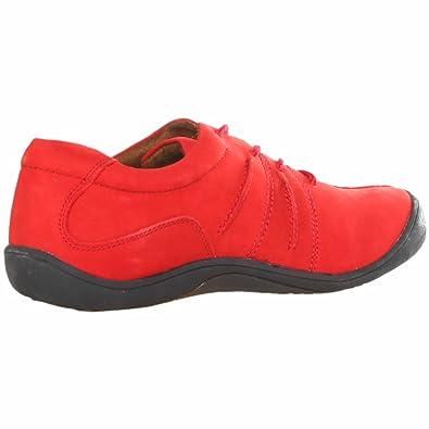 Scholl - Zapatillas de cuero para hombre rojo Cherry, color rojo, talla EU: 39 / Reino Unido: 6