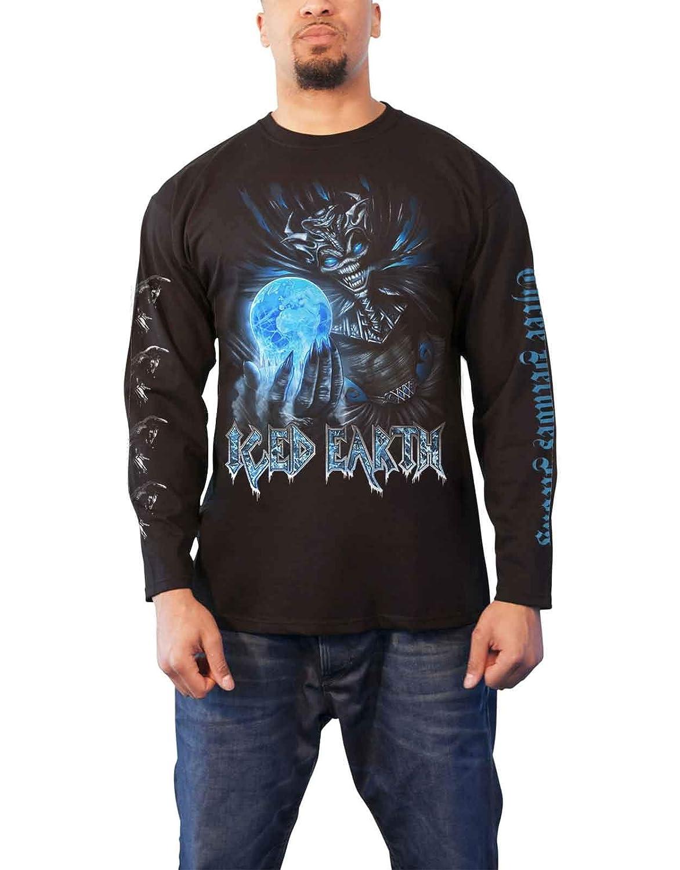 Amazon.com  Iced Earth T Shirt 30Th Anniversary Band Logo Official Mens  Black Long Sleeve  Clothing fa3f2609b4