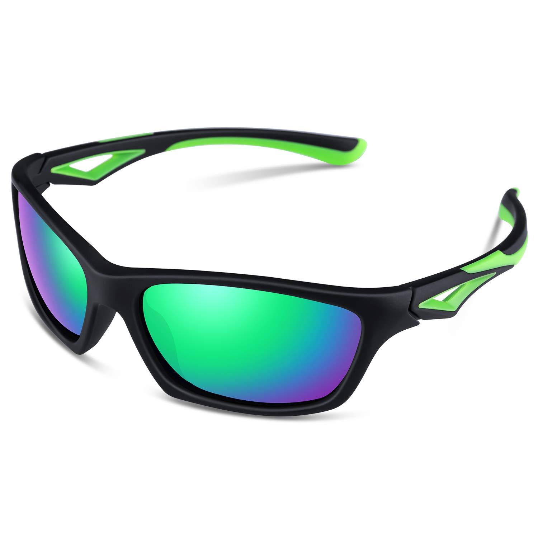 Sports Sunglasses for Kids Boys Girls Child Teen Toddler Wayfarer Youth Polarized