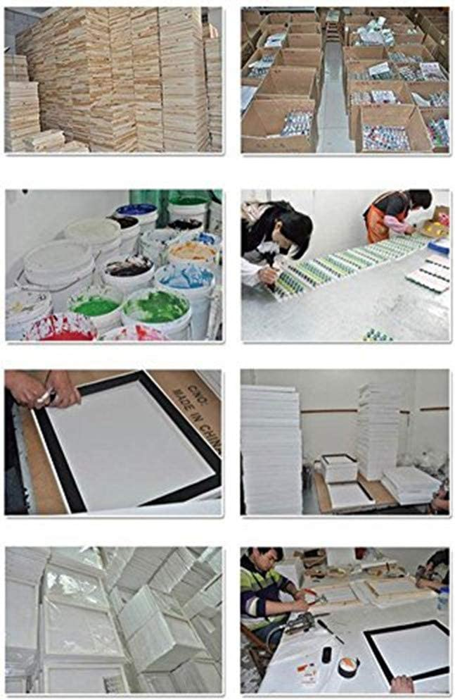 DIY Oil Painting Paint by Numbers Kits DIY Paint by Numbers DIY Oil Painting Kits New Paint by Numbers Diy Oil Painting Kits for Adults Beginner Kids Horse 16 X 20 inch Linen Canvas Kits Without Frame